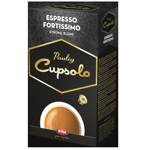 Cupsolo Espresso Fortissimo
